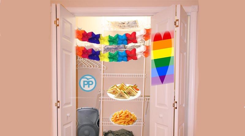Miles de gays del PP celebraron el día del orgullo dentro de su armario