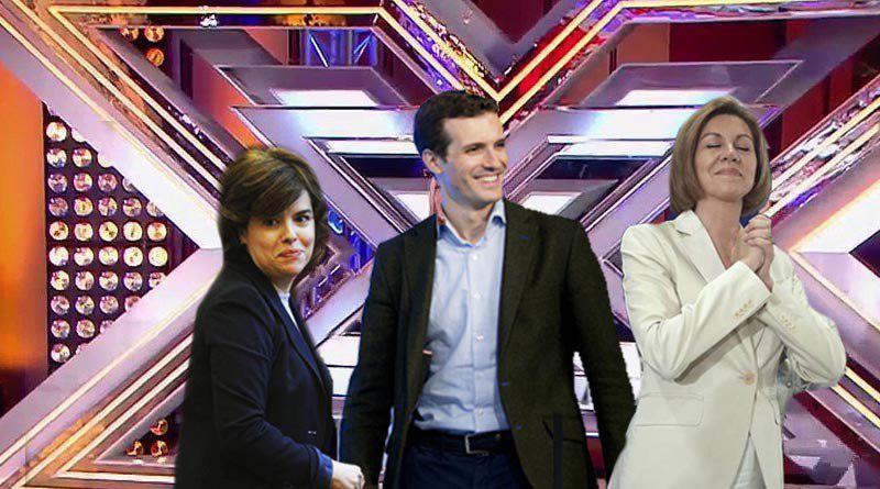 El jurado de Factor X elegirá al presidente del PP