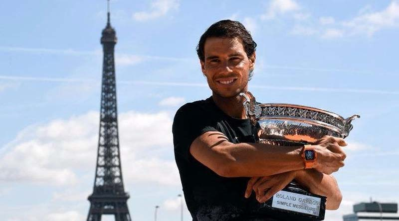 Rafa Nadal pide a Roland Garros que el año que viene juegue alguien bueno