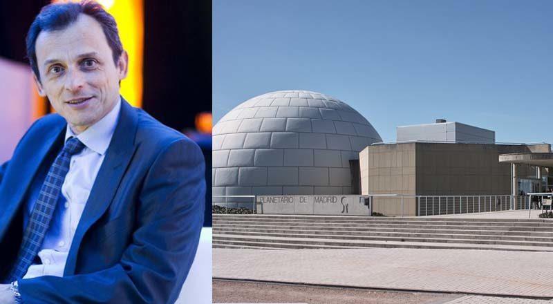 Pedro Duque solicita que le pongan el despacho en El Planetario