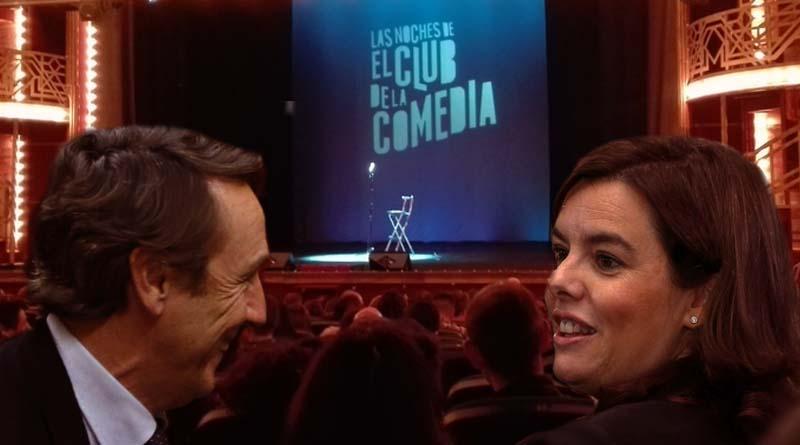 El PP ya busca sustituto a Rajoy en el Club de la Comedia