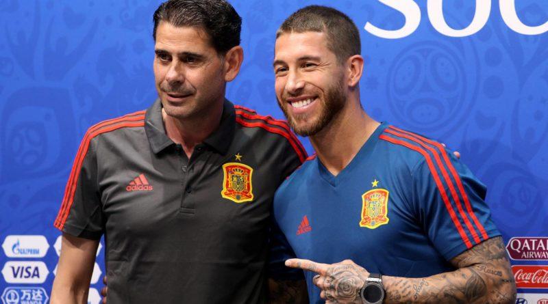 """Hierro pide ayuda a Ramos para hacer la alineación porque hay diez o doce futbolistas que """"ni le suenan"""""""