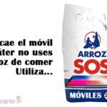 SOS saca el nuevo arroz especial para móviles