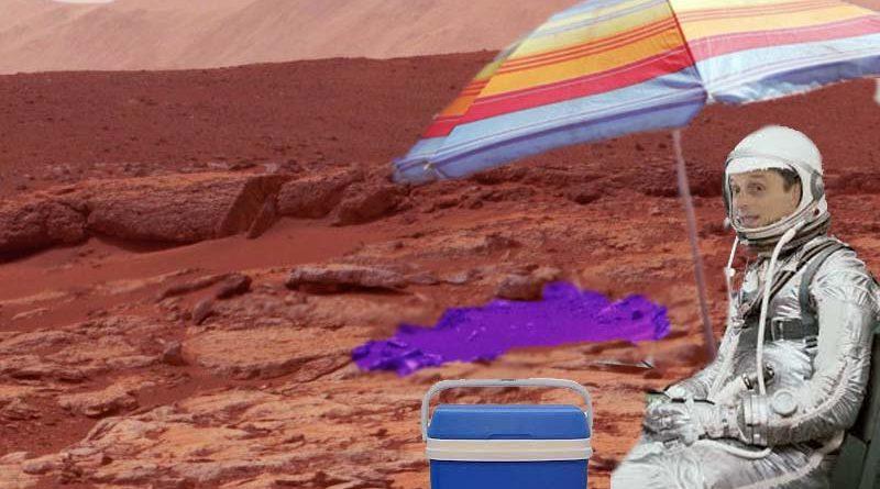 Pedro Duque confiesa que veranea en el lago de Marte