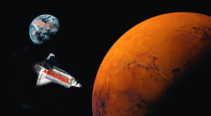 Cientos de murcianos emigran a Marte en busca de agua