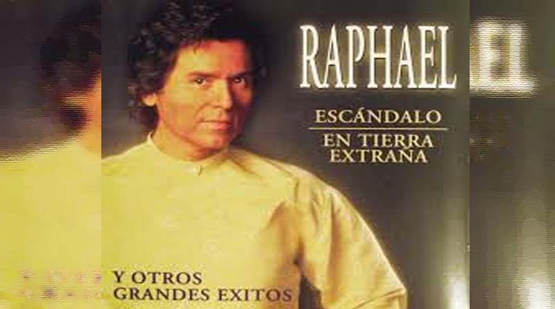 """La Fiscalía llama a declarar a Raphael para que aporte datos de ese """"Escándalo"""" que dice"""