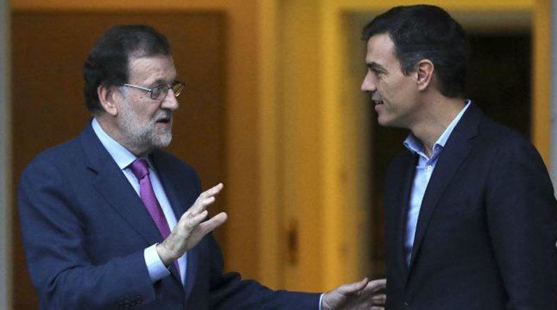 Rajoy despistado acude cada mañana a La Moncloa a trabajar