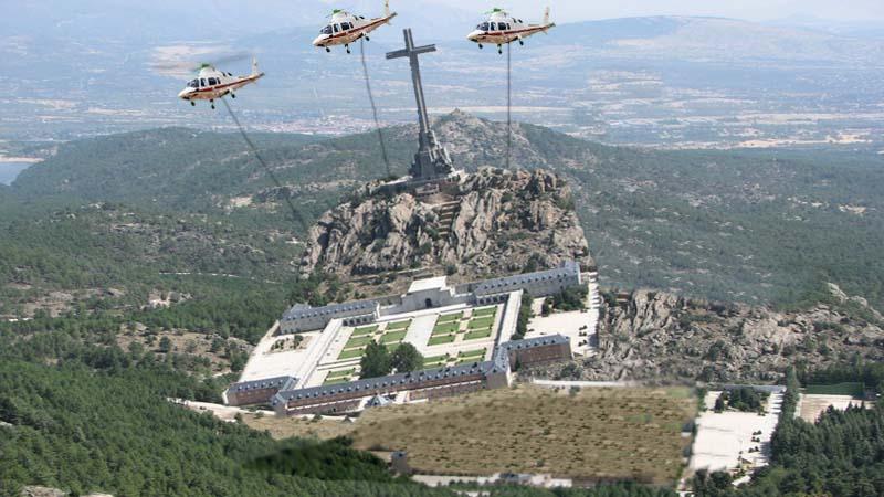Pedro Sánchez moverá todo el Valle de los Caídos si no le dejan exhumar a Franco