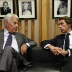 Aznar y Felipe acuerdan dejar de reírse de los españoles