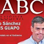 ABC demuestra que Pedro Sánchez ni siquiera es guapo