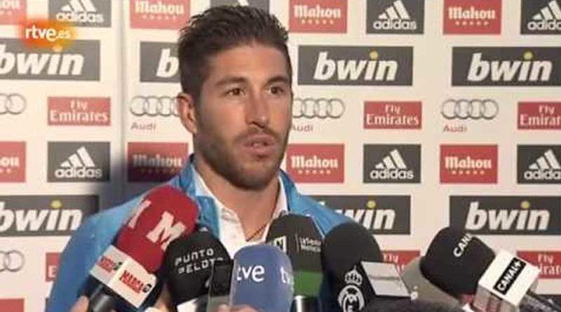 Sergio Ramos achaca la crisis del Madrid a la sequía de Cristiano