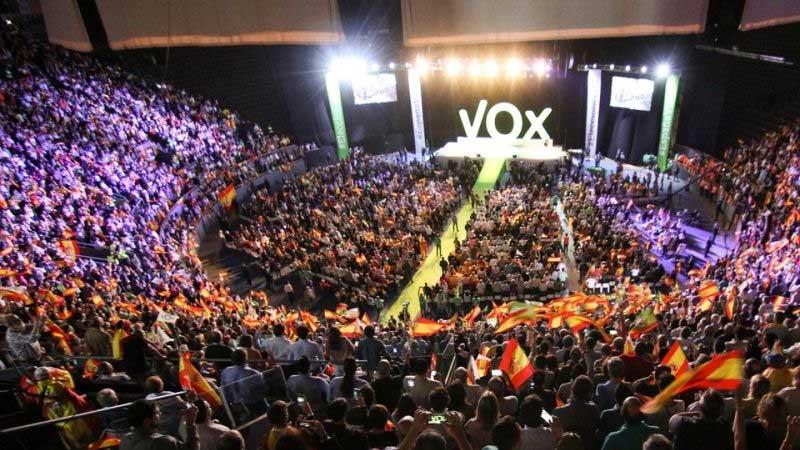 VOX intentó pagar los gastos de Vistalegre en pesetas