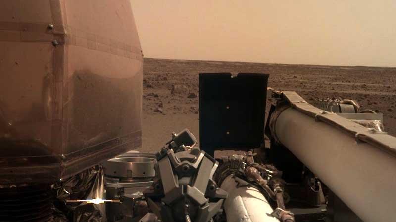La NASA reconoce que por error enviaron la nave inSight a Almería