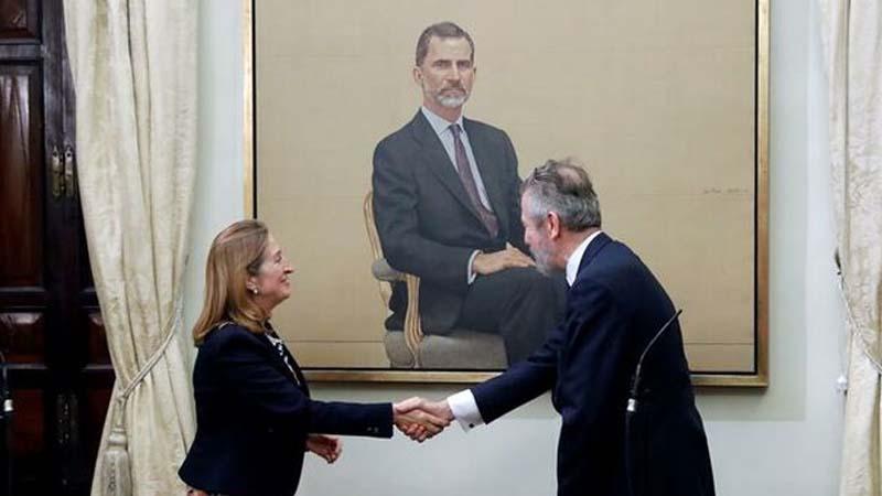 El Congreso aclara que el retrato del rey cuesta 1.000€ y los otros 87.000€ son de gastos de envío