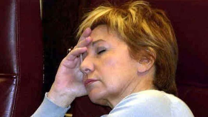 """Celia Villalobos deja la política porque """"dormir en el Congreso me está matando la espalda"""""""