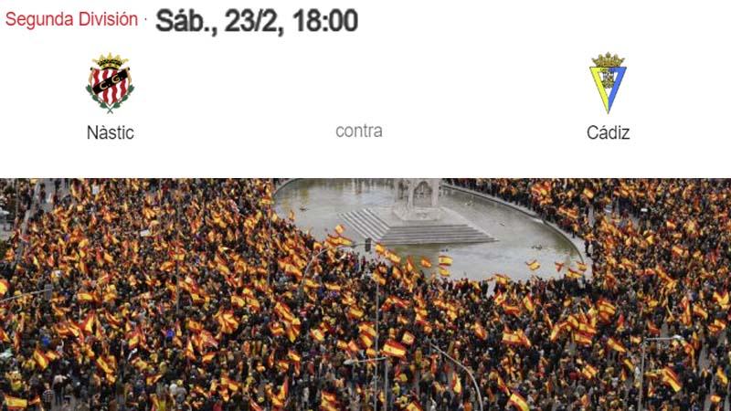Un grupo de cadistas intenta que se monte otra manifestación en Tarragona para el 23