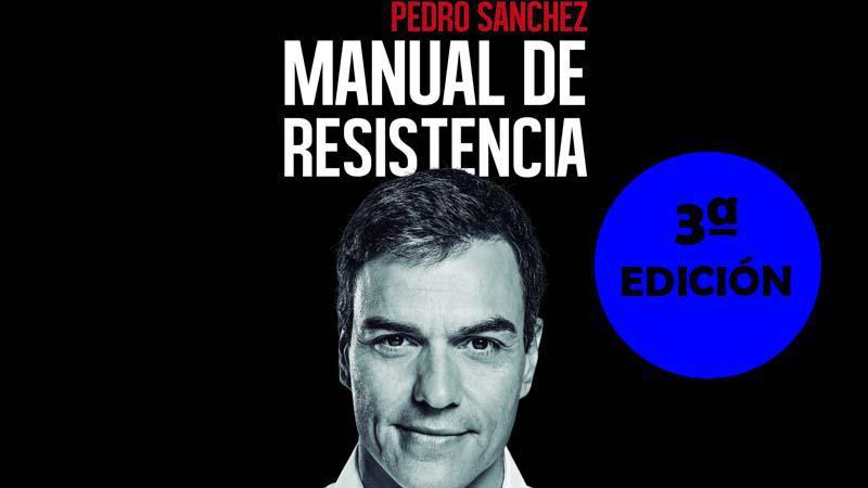 El libro de Pedro Sánchez va ya por la 3ª edición después de que él mismo comprara las otras 2