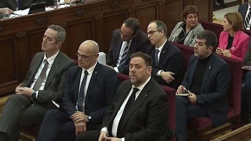 """Los acusados del 'procés' denuncian torturas """"con un juicio aburridísimo"""""""