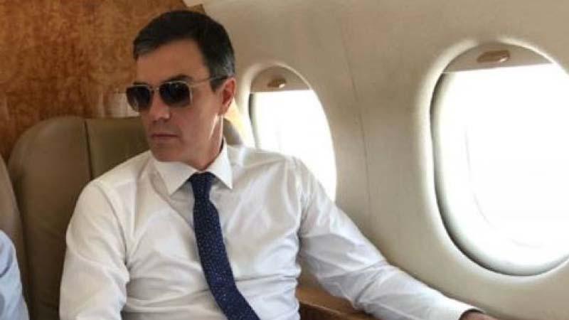 Pedro Sánchez irá al debate que tenga parking para el Falcon