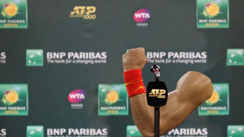 El brazo de Rafa Nadal hará carrera en solitario