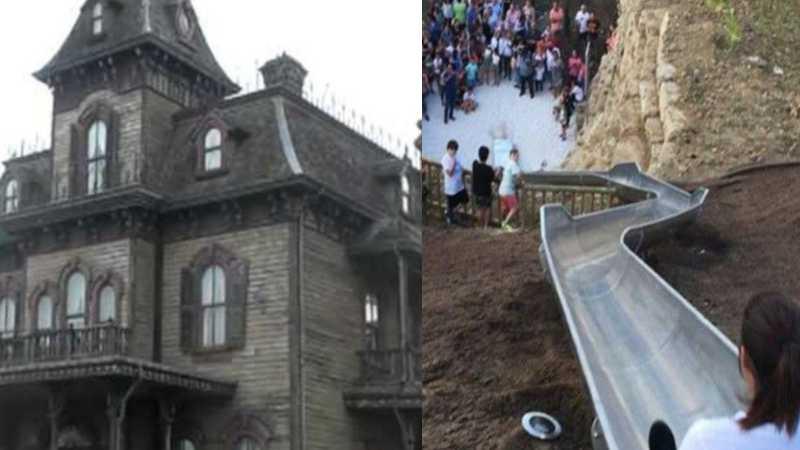 Disneyland París compra el tobogán de Estepona para su Casa del Terror