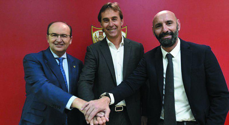 Lopetegui firma con el Sevilla para las próximas dos semanas