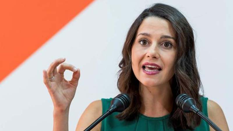 Arrimadas pide gastroenteritis para todos los líderes políticos españoles