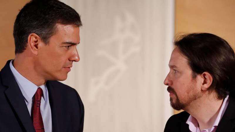 Pedro Sánchez ofrece a Pablo Iglesias revelarle sus secretos de belleza a cambio de la investidura