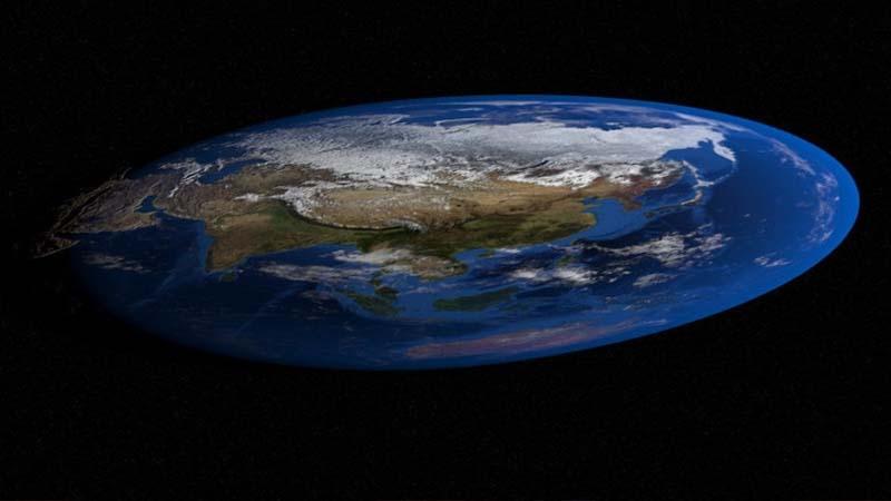 Los 'tierraplanistas' se dividen en dos facciones, plato hondo o plato llano