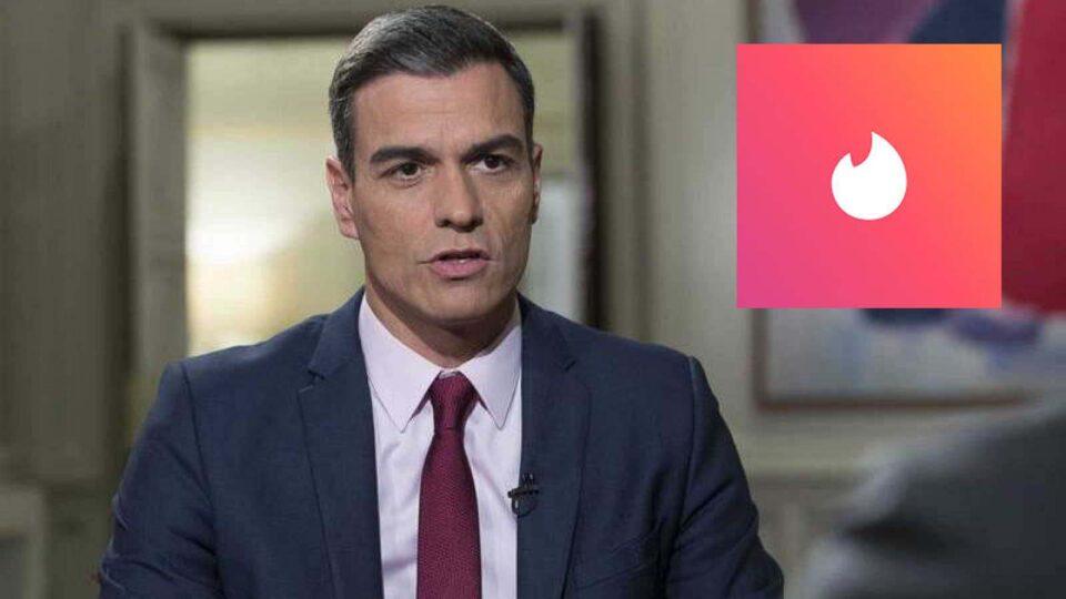 Pedro Sánchez intentará en Tinder hacer match con alguien para gobernar