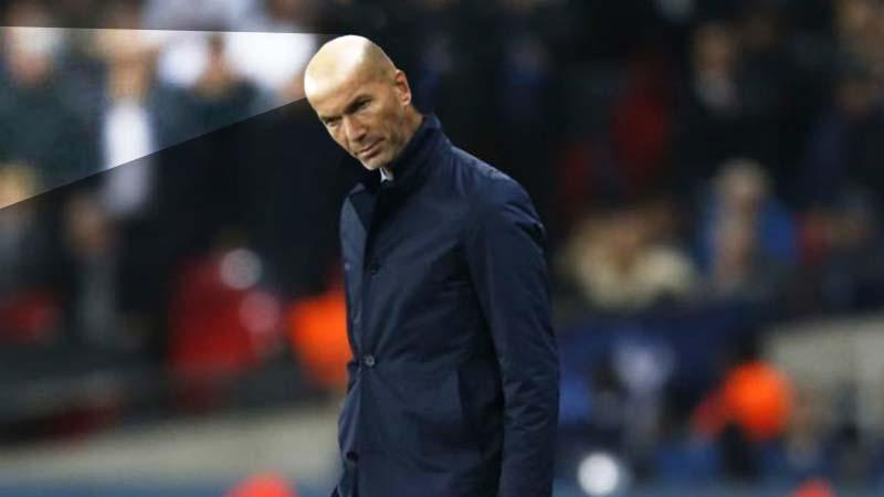 Zidane, sancionado por intentar deslumbrar al portero contrario con la calva