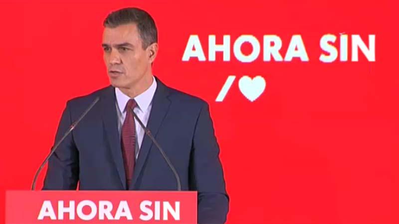 El PSOE presenta su nueva campaña AHORA SIN izquierda