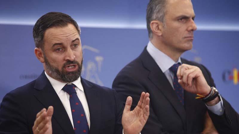 Abascal exige la retirada inmediata de todas las farolas de Madrid