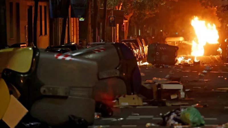 Los CDR paralizan las protestas hasta que lleguen más contenedores de Alemania
