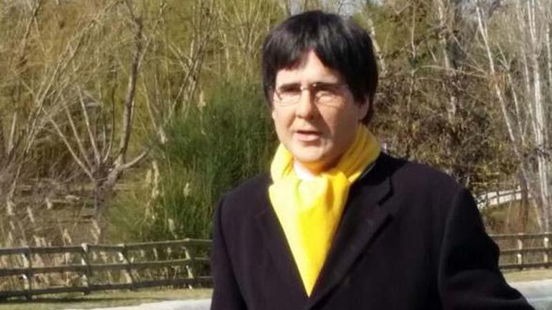 Puigdemont se hace pasar por Joaquín Reyes para entrar en España por Navidad