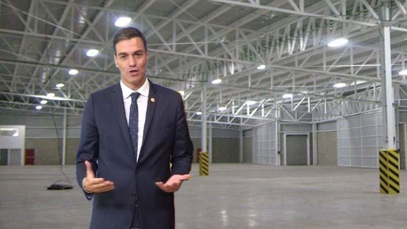 El gobierno alquila una nave de 1000 m2 para las reuniones con los vicepresidentes