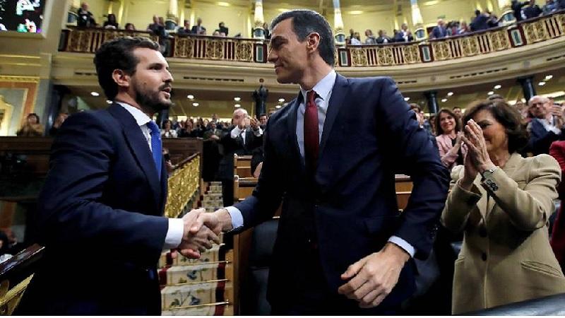 PP, Ciudadanos y VOX se resignan y le dan a Pedro Sánchez un margen de 20 minutos