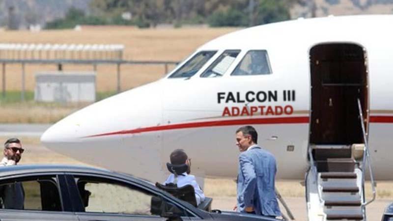 Ya está listo el Falcon III para Pablo Echenique