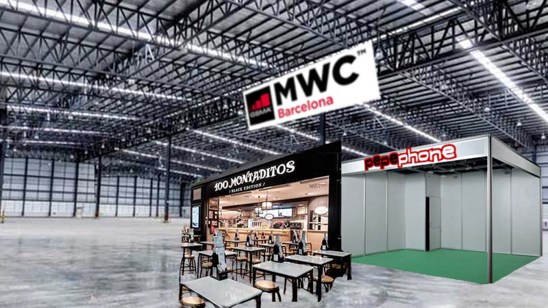 El Mobile World Congress solo tendrá un stand de Pepephone y un 100 montaditos