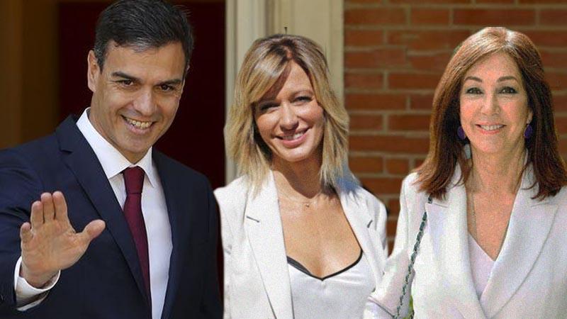 Cumbre en Moncloa con Ana Rosa y Susana Griso sobre coronavirus