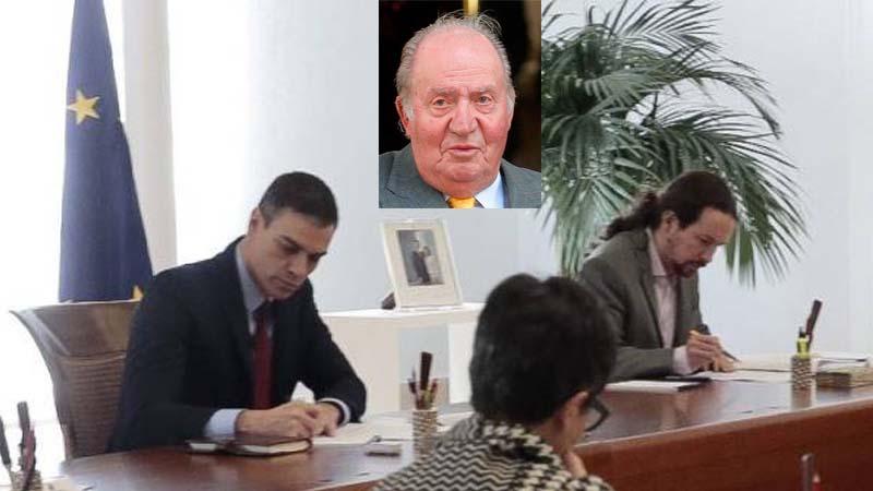 """El Gobierno retira el título de """"Campechano"""" al rey Juan Carlos"""