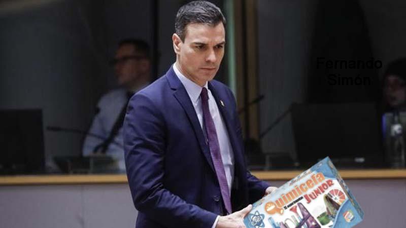 Pedro Sánchez se compra el Quimicefa para hacer él mismo los tests