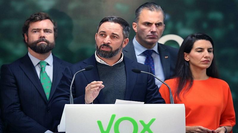 VOX dará un golpe de estado para evitar que el gobierno de un golpe de estado