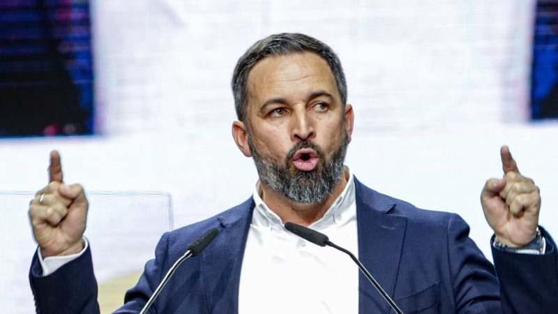 VOX propone un gobierno de consenso sin Podemos, ni PSOE, ni Más País, ni partidos regionales, ni Ciudadanos, ni derechitas cobardes