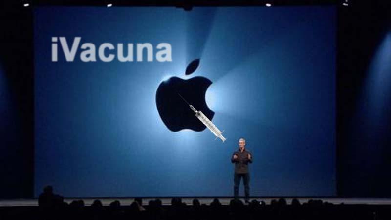 Apple presenta su iVacuna, que luchará contra la vacuna de Bill Gates