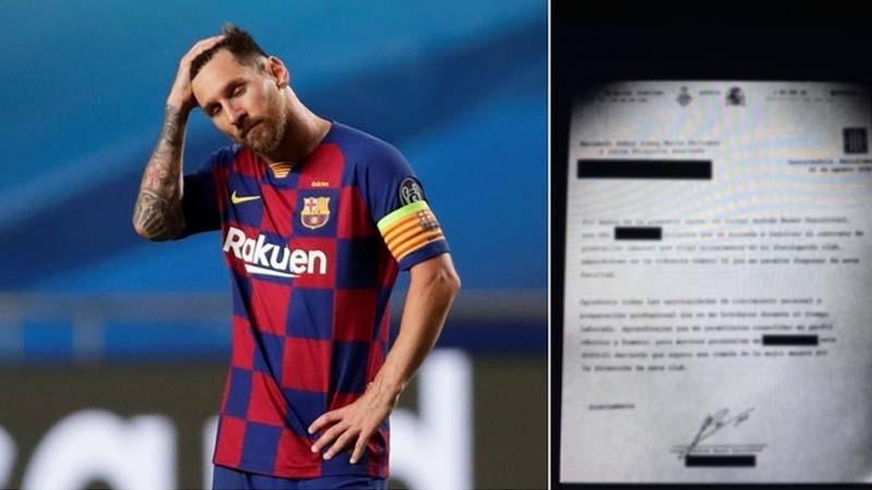 Messi envía un burofax al City para comunicarles que no cuenten con él