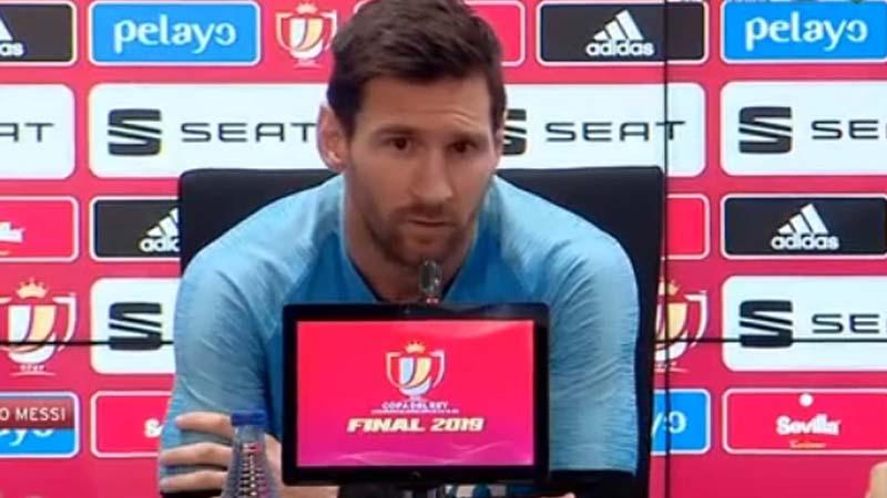 """Messi: """"Quería ir al City, pero no pasa nada, esto es mejor que morirse"""""""