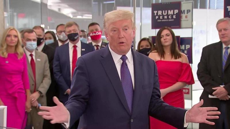"""Trump detiene el recuento de votos """"porque es un puto lío"""""""